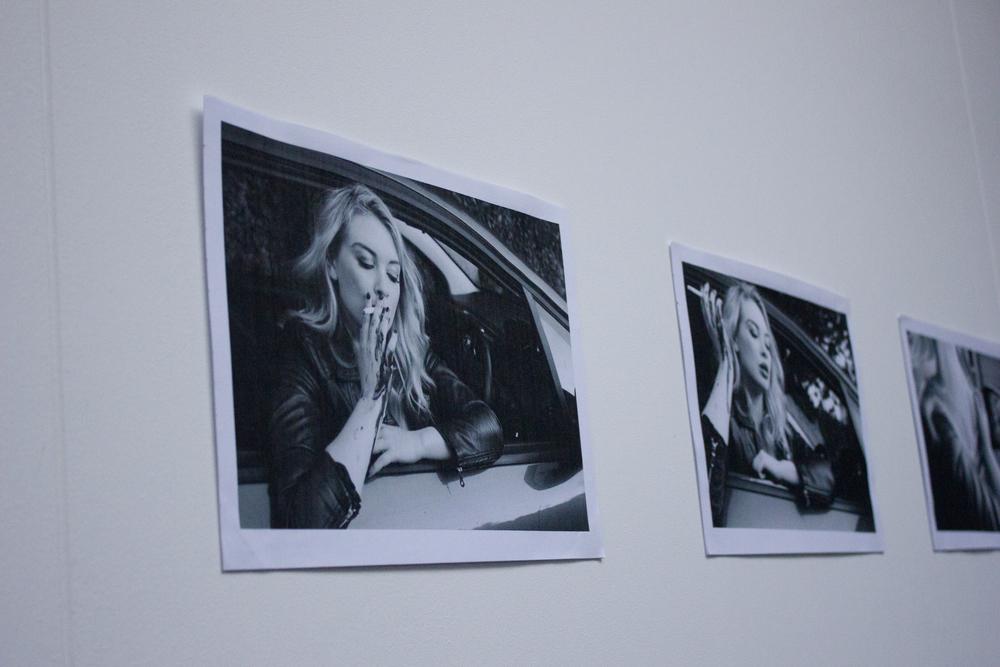 Miriam Collett - Self-portrait Film Stills - the monstrous feminine - Photography (2015)