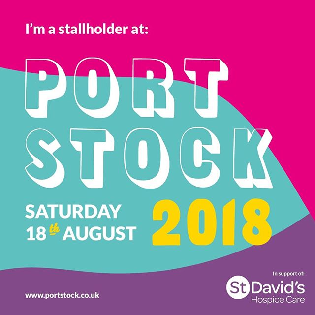 If you've got tickets to @portstockfest at Tredegar House this Saturday I'm selling my cards and prints there! If you haven't got tickets and fancy a day of beer, sunshine (hopefully), music and local food and stalls I believe you can get tickets on the gate #musicfestival #stallholder #greetingcards #newport
