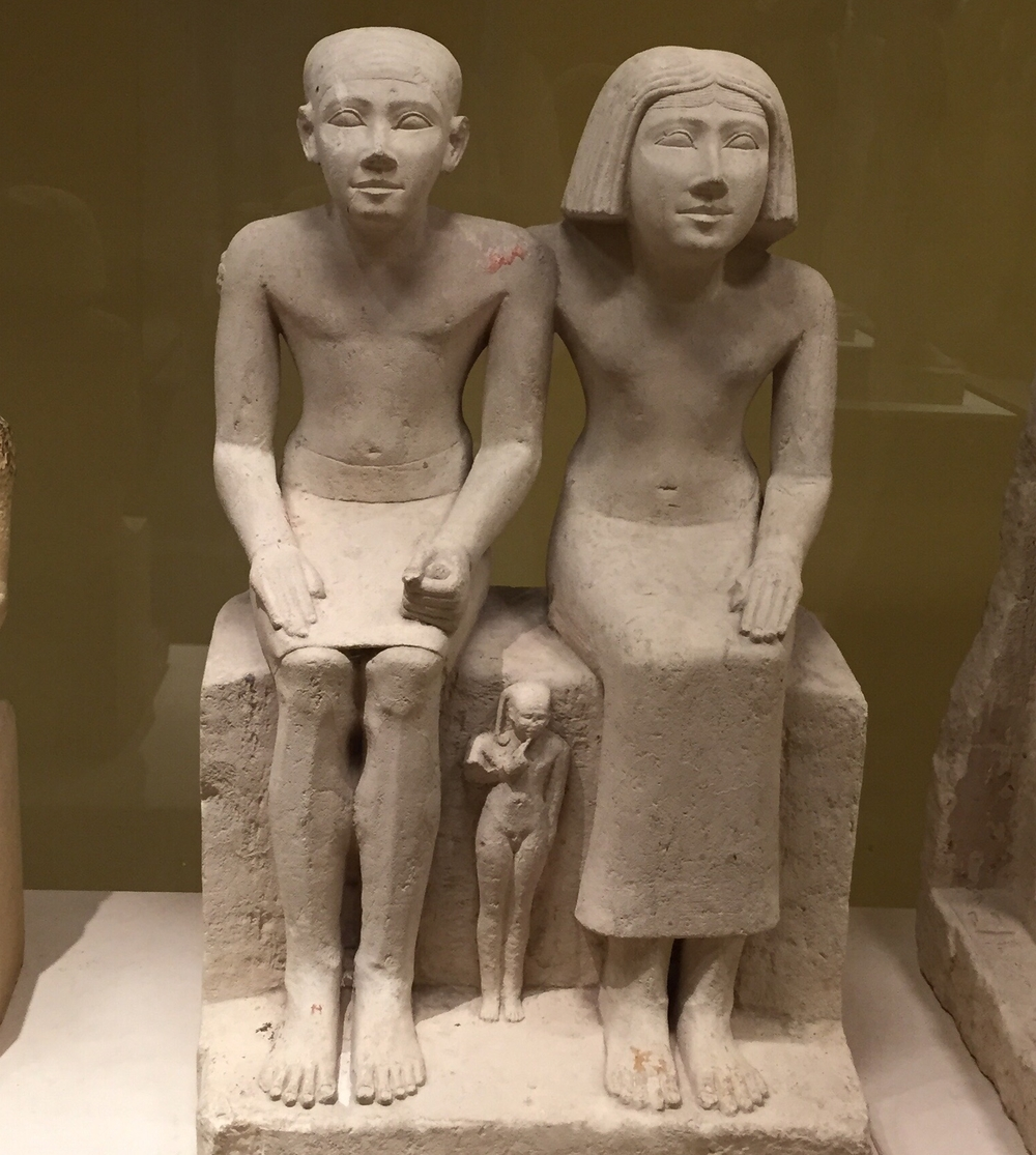5th Century BCE Egyptian Couple
