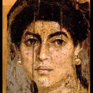 1st Century AD Roman Egyptian Funerary Art