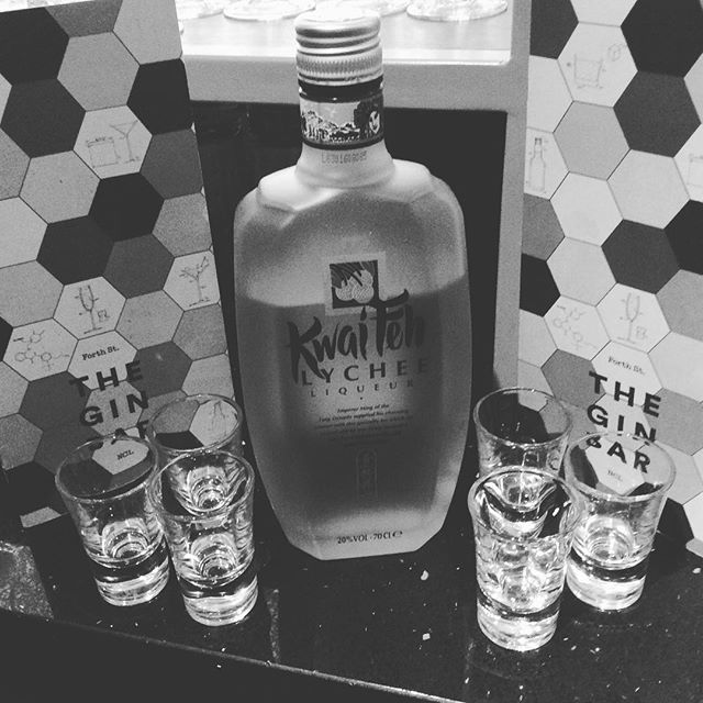 So happy to have this beautiful unique liqueur back in stock at #theginbarncl .. If you are yet to try it then come pay us a visit! #kwaifeh #lychee #NolikeeNoLychee