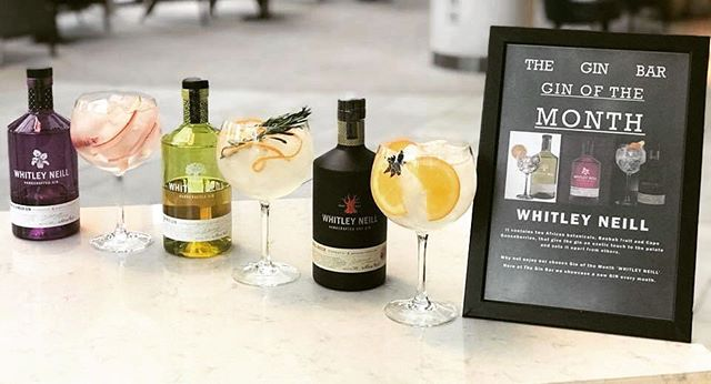 As March is coming to an end so is our gin of the month featuring Whitley Neill, come on down to see us in The Gin Bar and experience the exotic and fresh flavours Whitley Neill has to offer!
