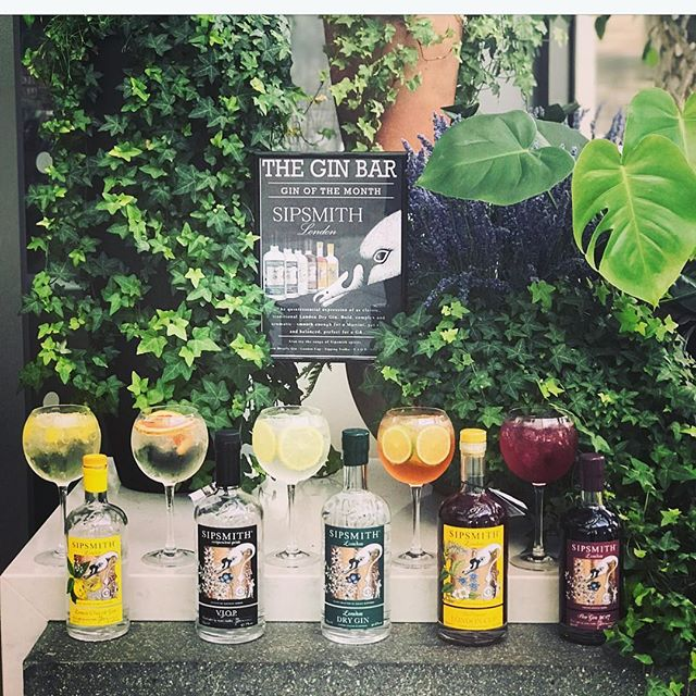 Need last minute plans for tonight, come down to The Gin Bar and give one of our Gin of the month ago featuring our SIPSMITH collection! Great friends offer advice, but we offer Gin 😉
