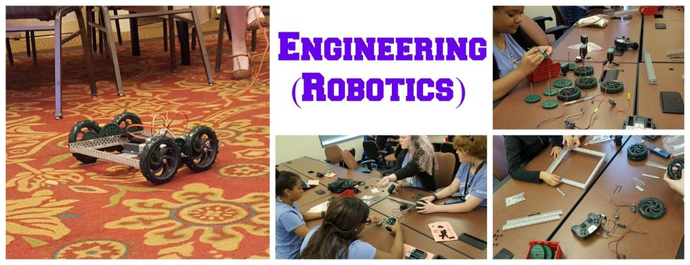 STEMers become engineers by literally building a remote-controlled robot!