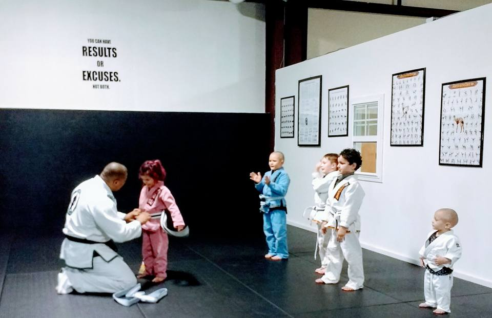 Kaida's Belt Promotion
