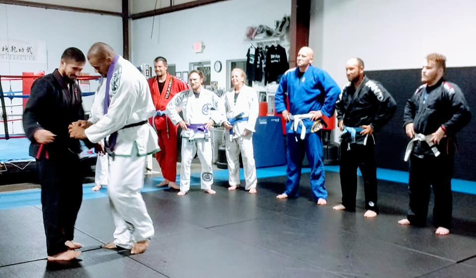 Ronnie Lawrence to Brown Belt