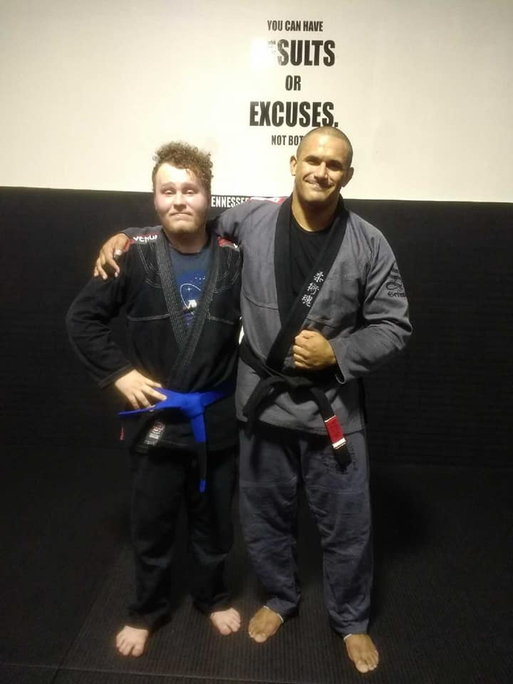 Christian Scardina to Blue Belt