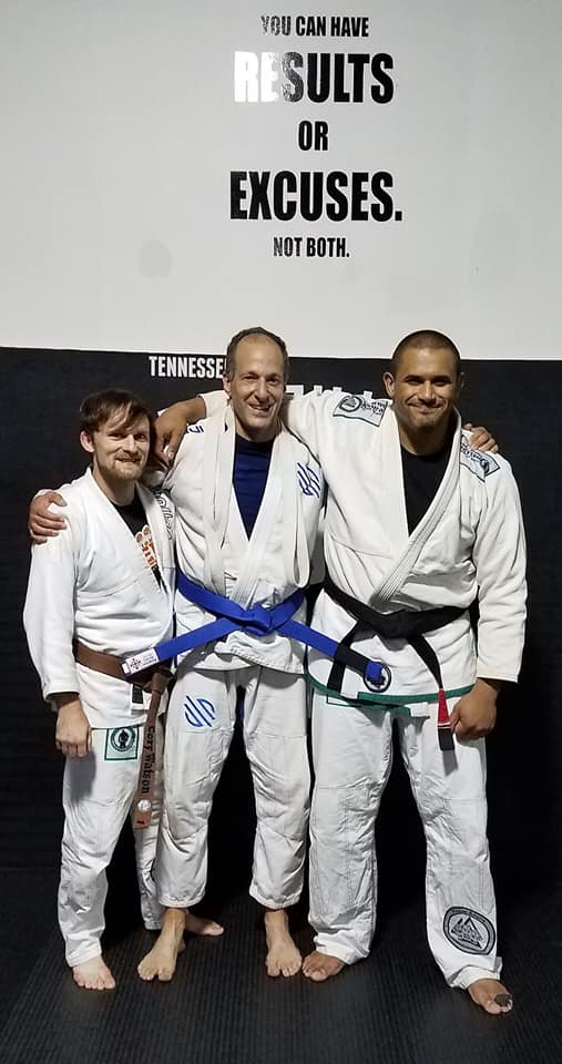Mark Solomon to Blue Belt