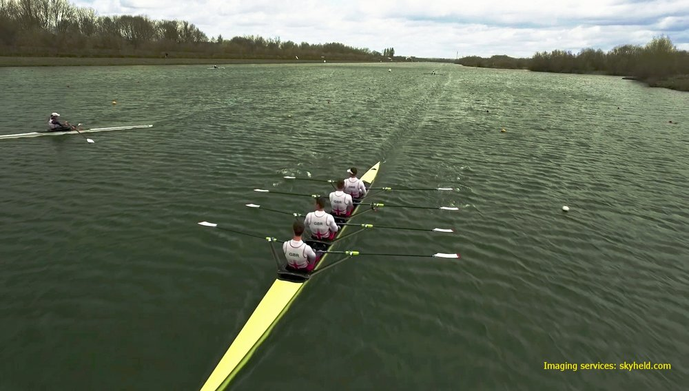GB Rowing Team training session