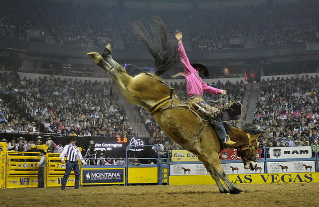 UNLV's 20,000-seat arena is the electrifying venue of the National Finals Rodeo.