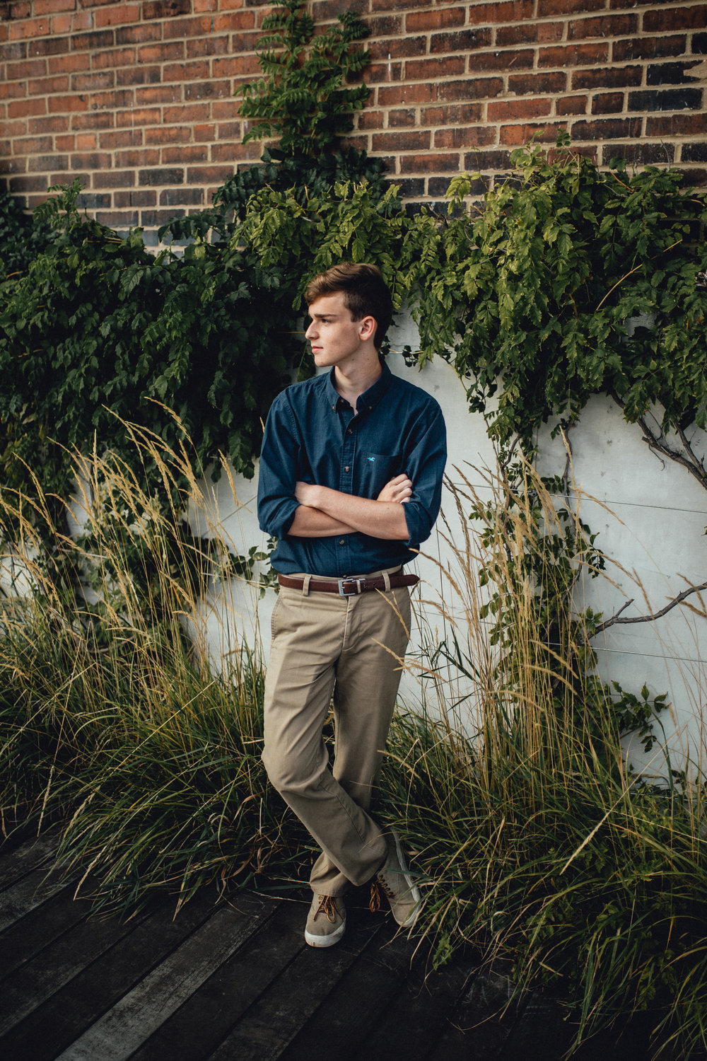 Milwaukee Senior Boy - Emerald Tide Photography