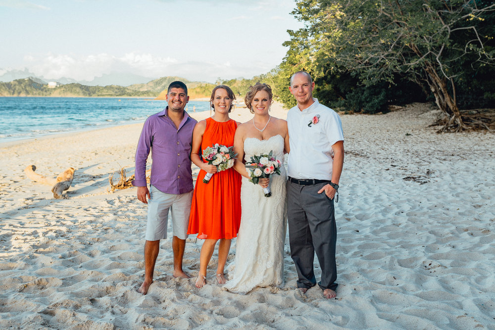 Costa Rica Destination Wedding Photographer- Emerald Tide Photography