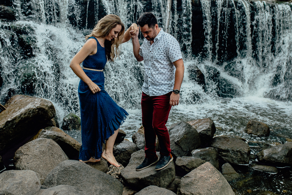 Dani & Nate - Midwest Summer Engagement Photo Session - Milwaukee, Wisconsin