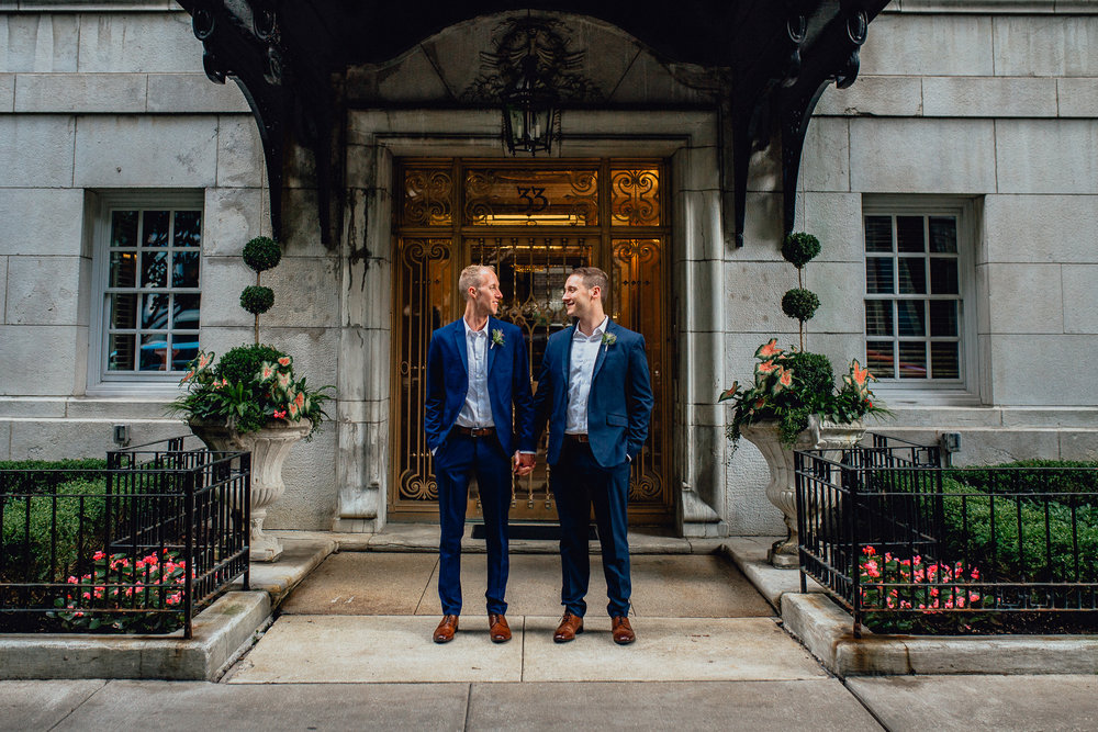 JOSH&MATT- Emerald Tide Photography MILWAUKEE CHICAGO DOWNTOWN GAY CLASSY ELEGANT WEDDING LOVEISLOVE