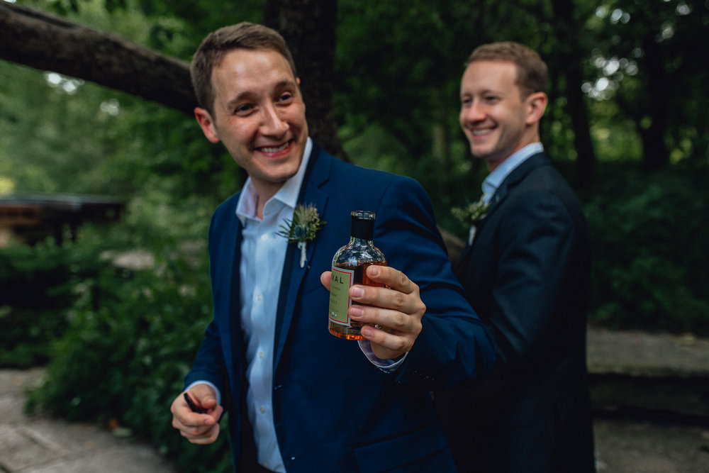 Modern Gay Chicago Wedding Elopement  - Emerald Tide Photography - The Thompson