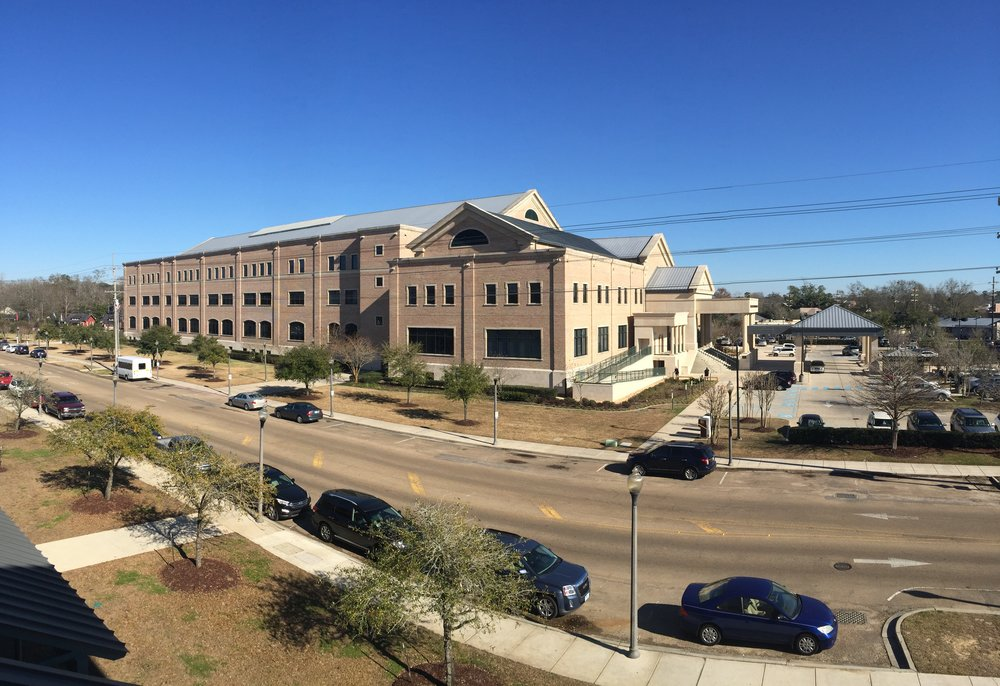 St. Tammany Parish Justice Center   Parking Garage