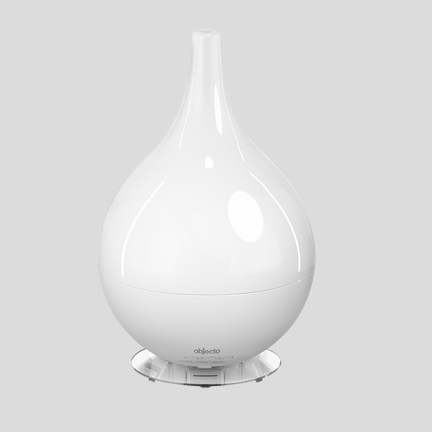 H3 Hybrid Humidifier Product Specifications: Dimensions: 8 x 8 x 12 inches Weight: 2.2 pounds Tank capacity 2 liters Runs for approximately 18 hours Humidifies 350 square feet Accessories include aroma tabs Available in white, dark brown, pink and purple