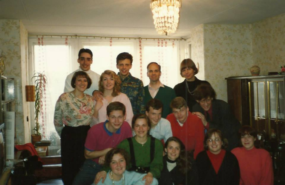 Spring 1994 - The core group of believers involved in Bible study increases