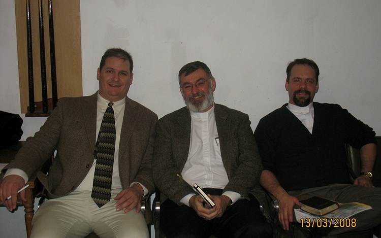 L to R: Joost Nixon, Tom Brainerd and Eric Sauder.