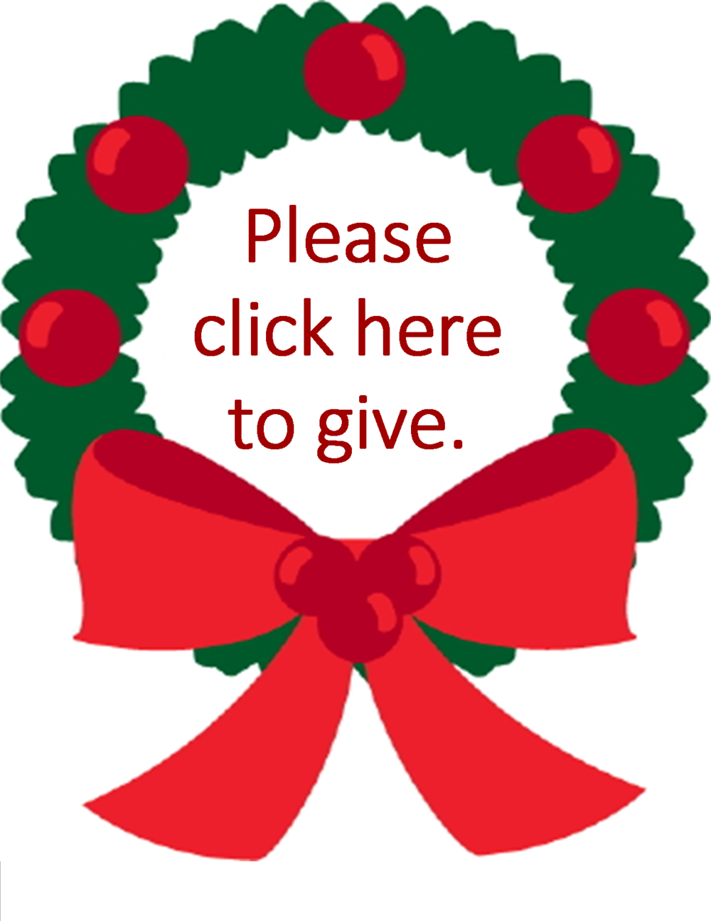 Click on the Wreath!