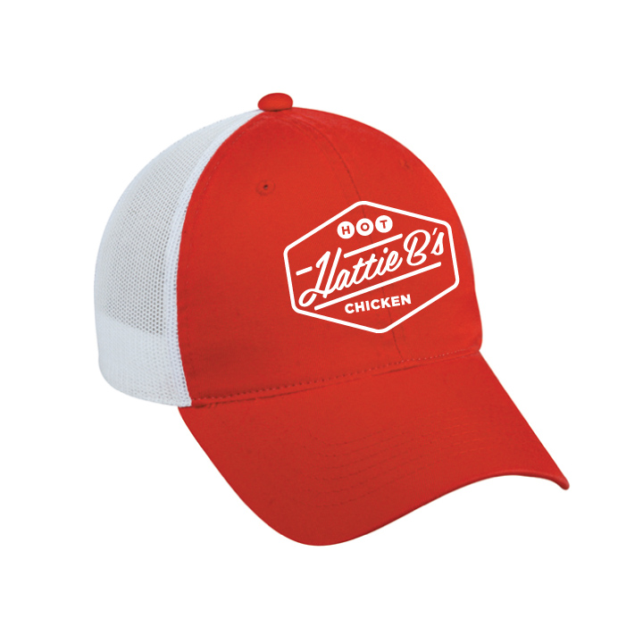 Red Trucker Hat — Hattie B s 0acc66e1017