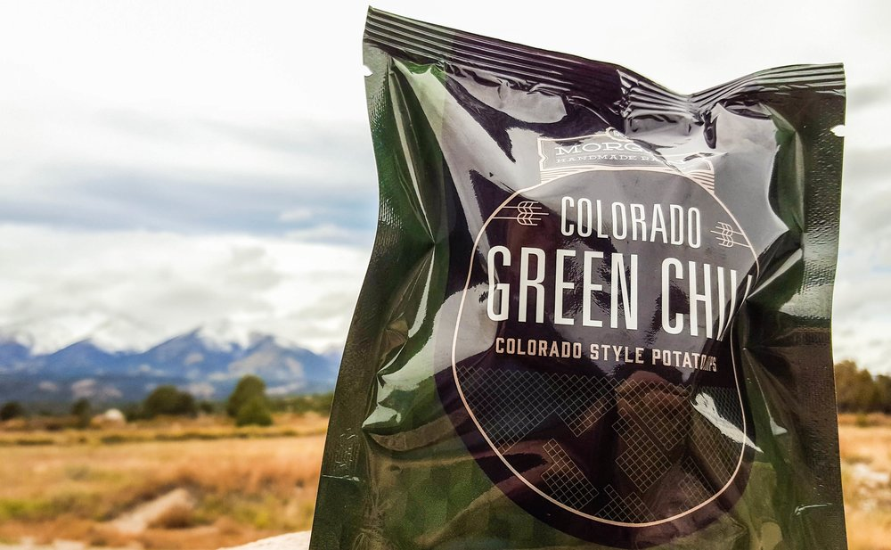 Colorado Green Chili - Exactly what Colorado does best: loads of Hatch green chili and cumin, with hints of lime and roasted garlic.