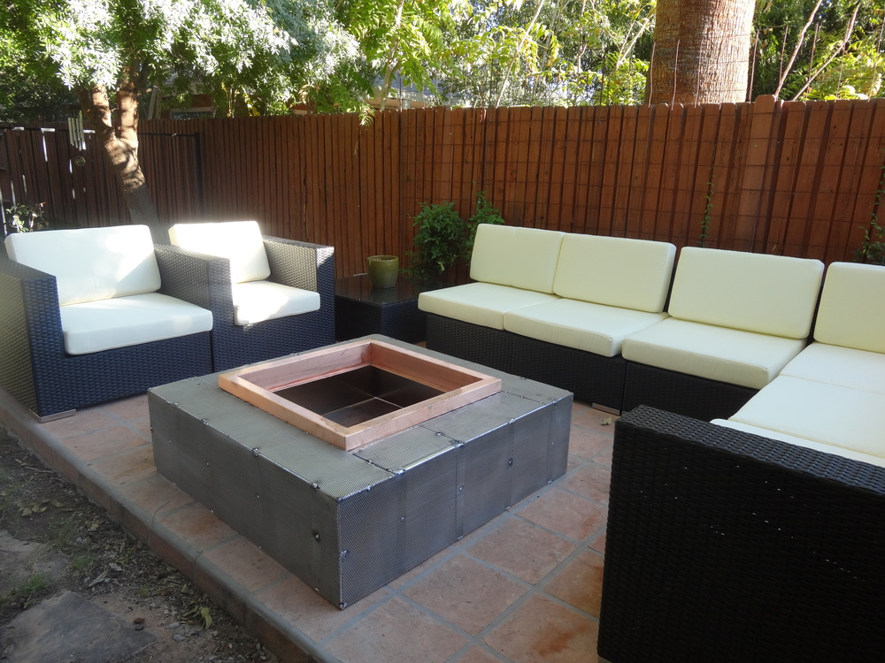 prefabricated fire pits bobe water fire