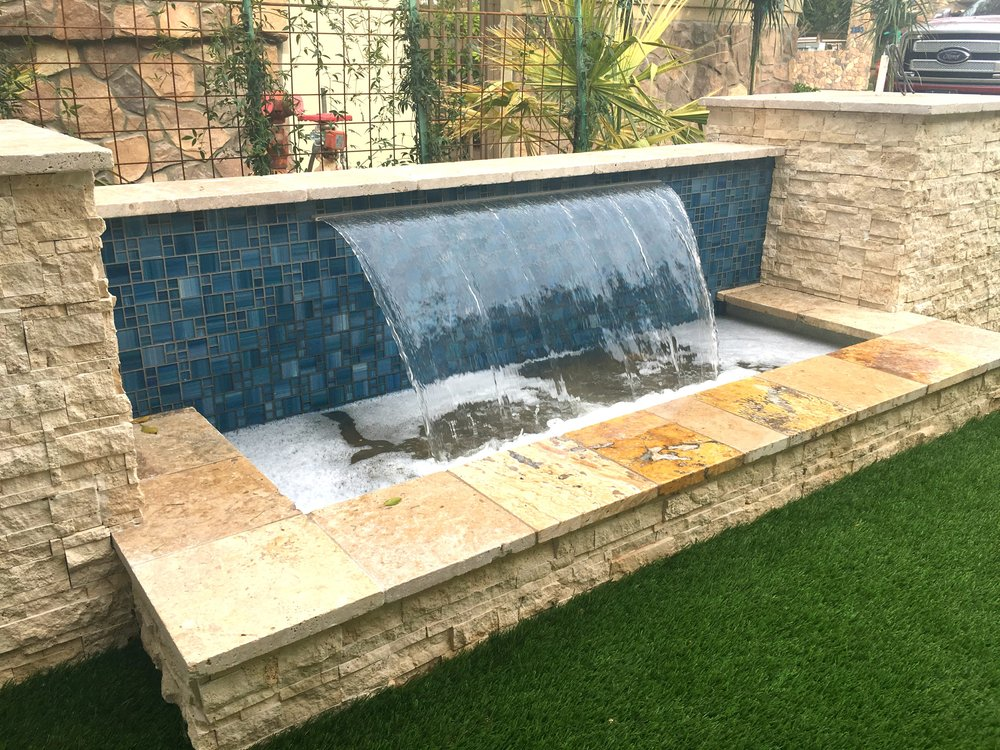 PURE FLOW - Our featured scupper, the Pure Flow, is engineered to flow based on pressure so your result is a beautifully thick sheet of water that can gracefully flow up to 3' into your pool. Constructed of marine grade stainless steel that is 1/8