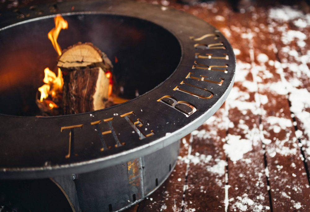 PERSONALIZED FIRE PITS -