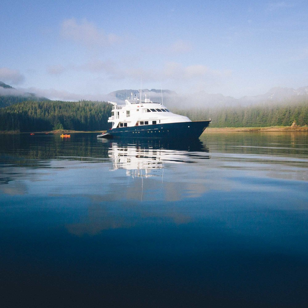 GOURMANDLY  A Floating Feast in Alaska