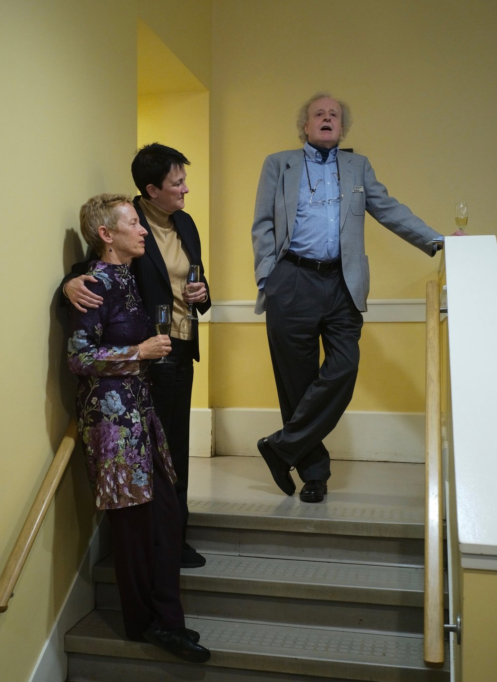 Linda Reichert, Jennifer Higdon and Richard Brodhead  Richard Brodhead invites Jennifer Higdon to propose the toast to Linda