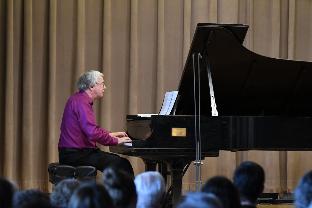 "Charles Abramovic performs ""Toccatina"" by Richard Wernick"