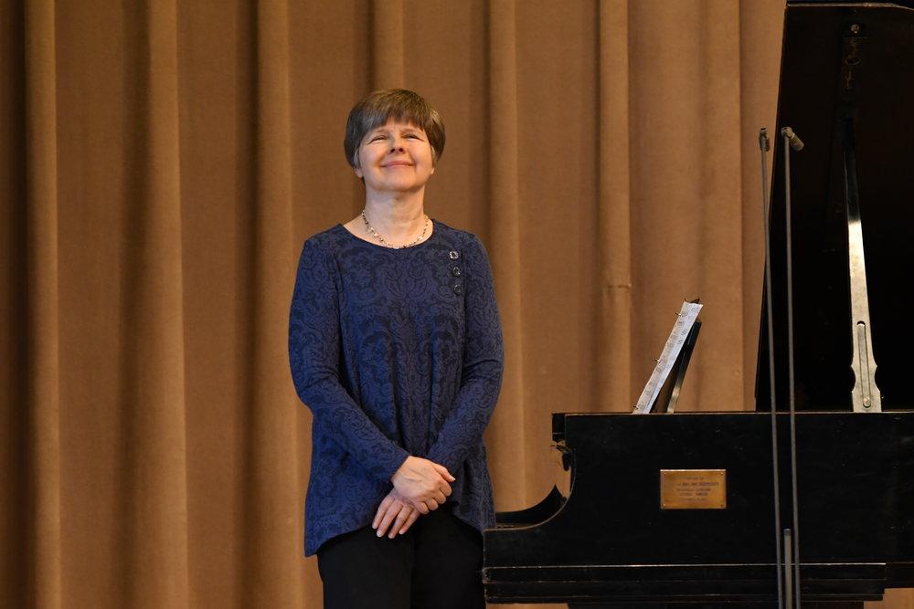 "Susan Nowicki performs ""Impromptu #4"" by Bernard Rands"