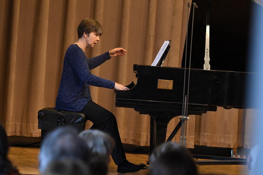 "Susan Nowicki performs ""Linda! Linda!"" by Melinda Wagner"
