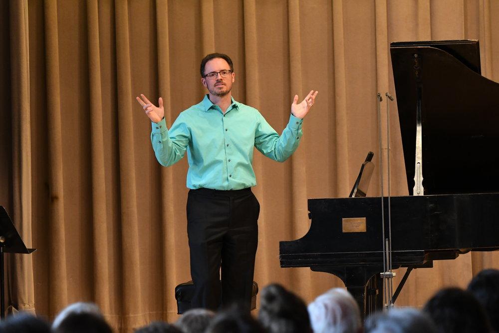 """Matthew Bengtson performs """"Poème"""" by Gareth Haynes"""