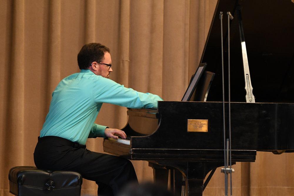 "Matthew Bengtson performs ""Notes of Gratitude"" by Jennifer Higdon"