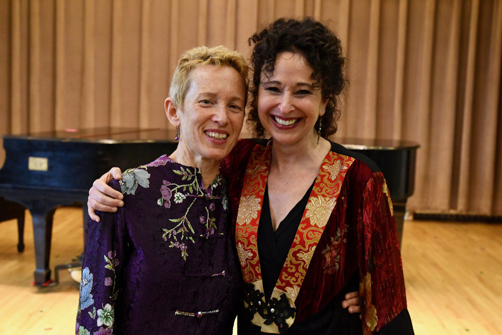 Linda Reichert and Andrea Clearfield