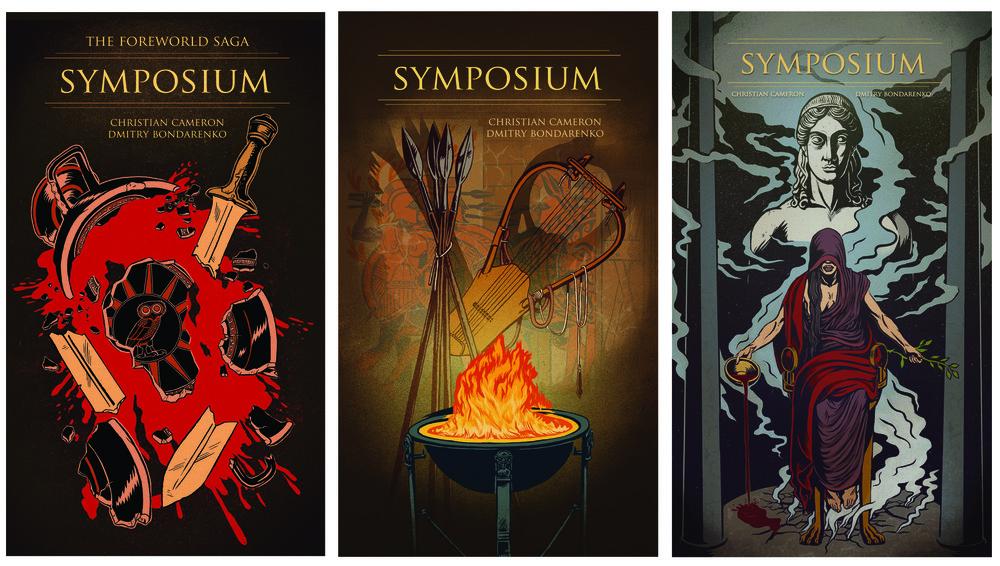 Symposium - 3 comic mini-series for Kindle