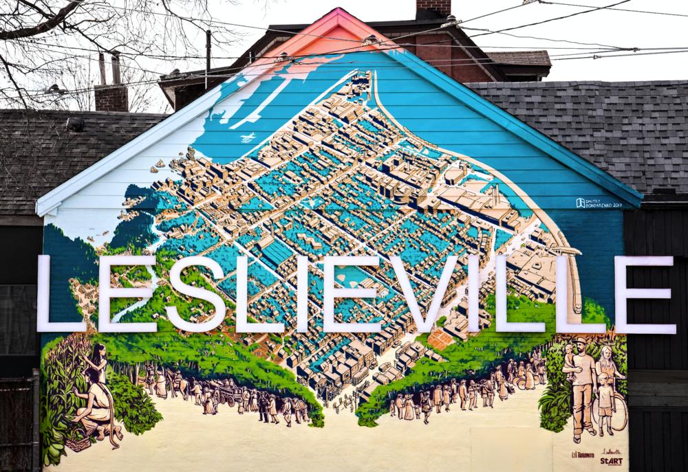 Leslieville Mural