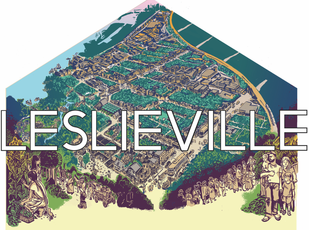 Leslieville Mural Design