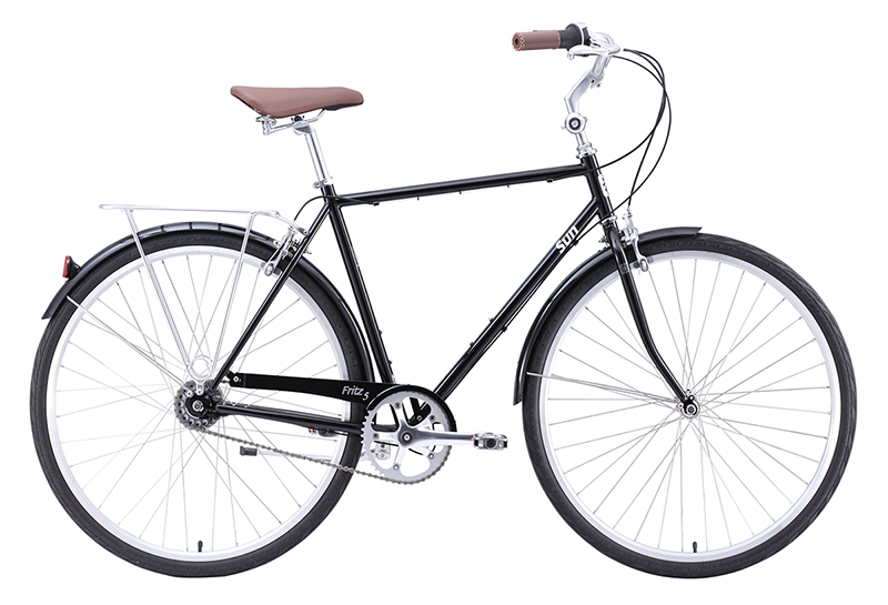 "Sun Fritz 5 5-speed internal hub Black 19""/23"" $539.99"