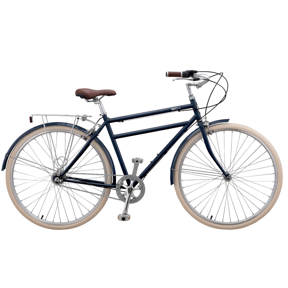 Brooklyn Bicycle Co. Driggs 3 3-speed internal hub LG Denim Blue/MD Army Green $600