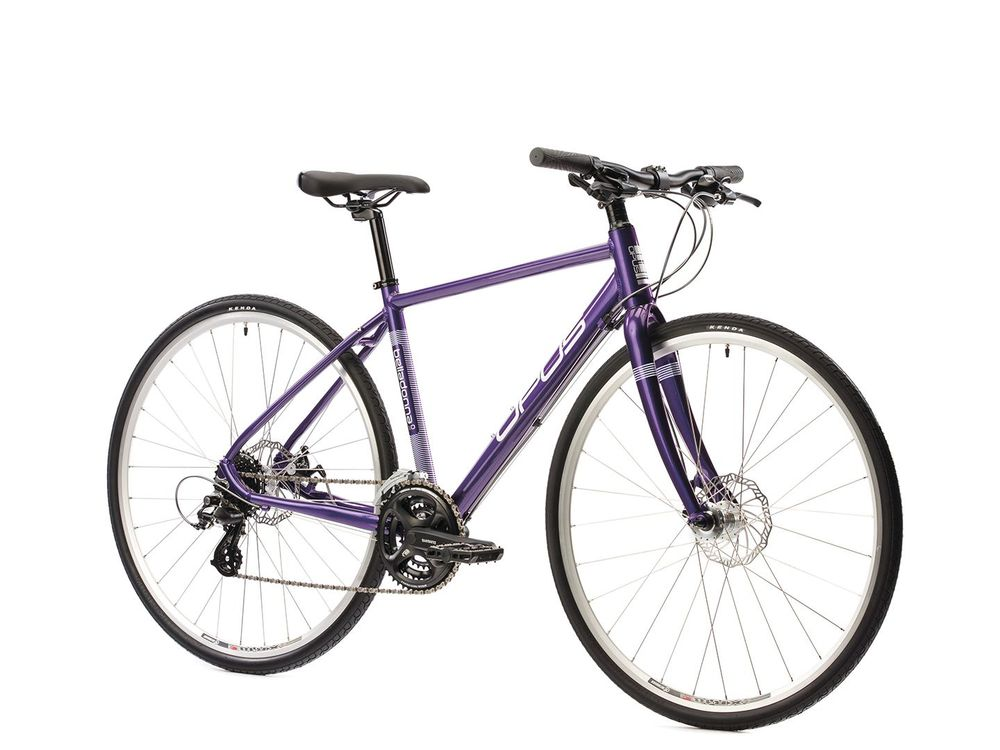 Opus Belladonna 1.0 21-speed XS Gloss Purple, LG Silver $669