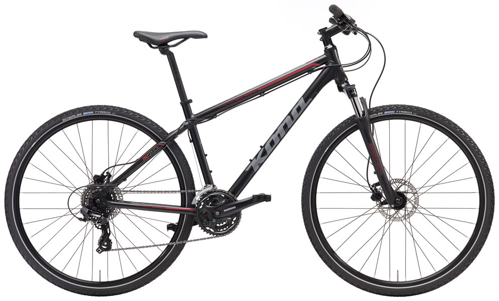 Kona Splice Matte Black/Grey MD, LG 24-speed $659