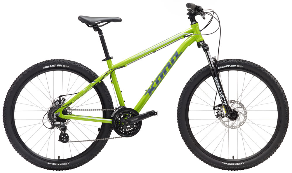 Kona Lana'I 24-speed MD Lime, LG Blue, XL Black $529
