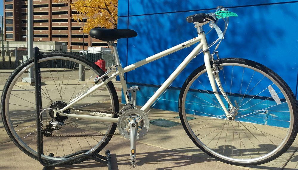"2016 Brooklyn Bicycle Co. Lorimer 14"" - $449 (Reg. $499) - Double-butted chromoly steel frame. Puncture resistant tires. Quick release wheels for easy transport."
