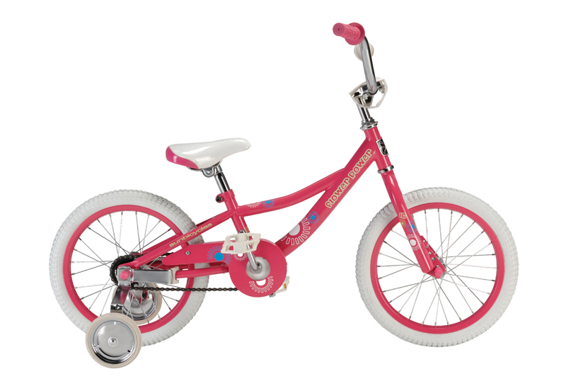 "Sun Flower Power single-speed Pink 16"" $179"