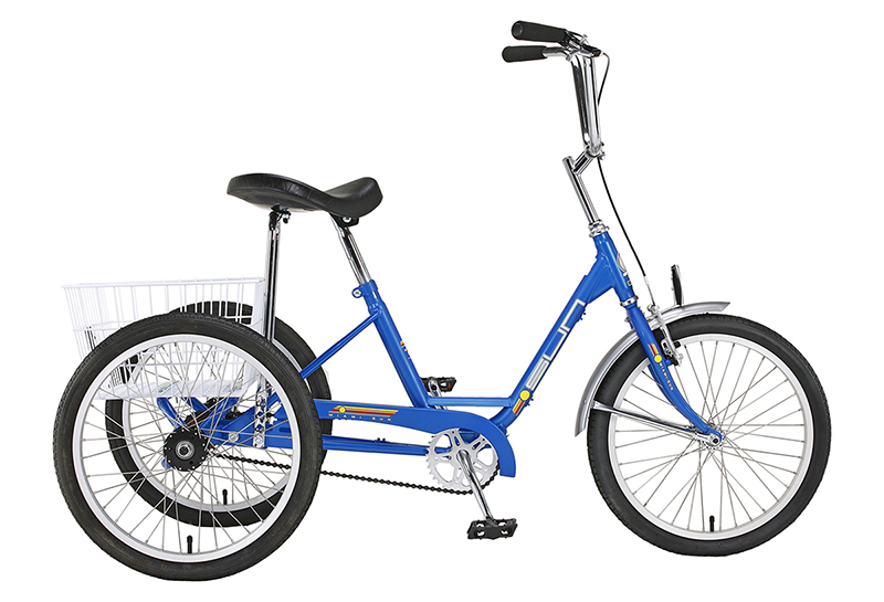 Sun Traditional 20 Trike 3 sp. internal hub Gloss Blue $540