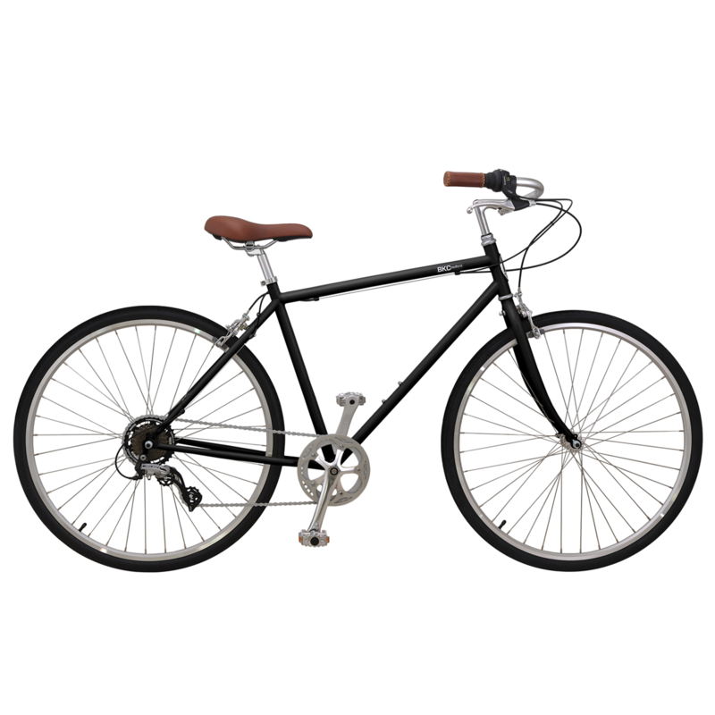 Brooklyn Bicycle Co. Bedford 7-speed LG Matte Black/MD Raw$480