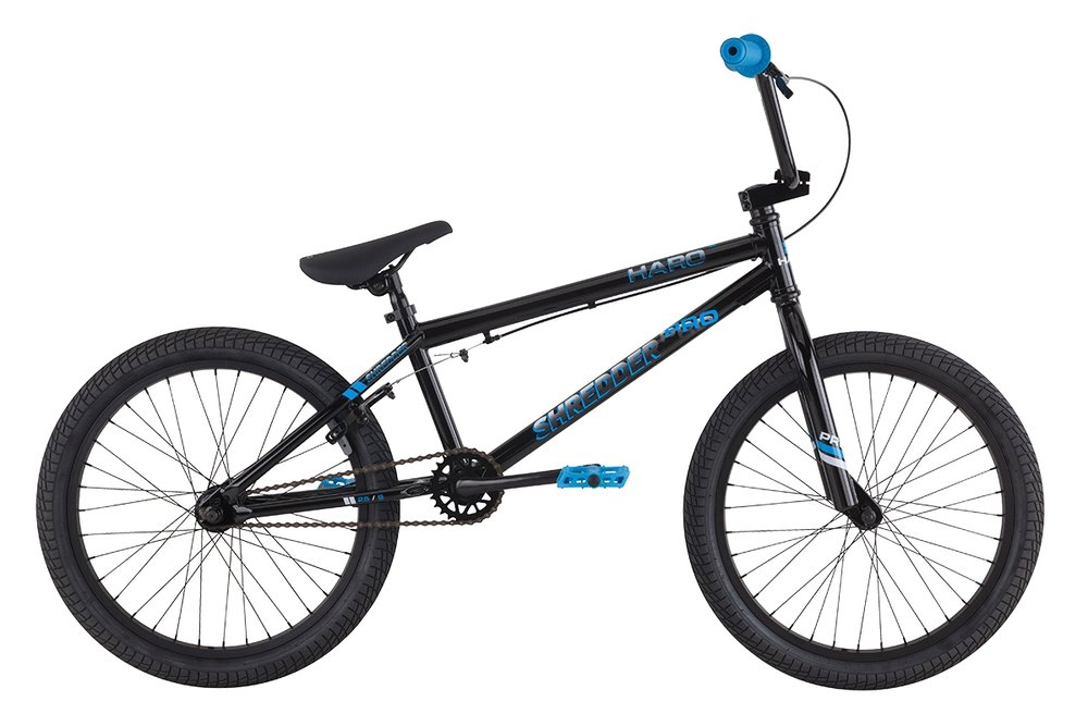 "Haro Shredder Pro 20"" Gloss Black, Gloss Blue $250"